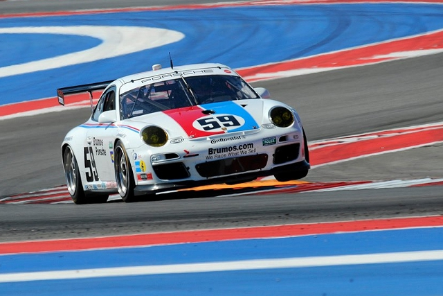 Brumos' #59 completed the GT class podium at Circuit of the Americas (Photo Credit: Chapman/Autosport Image)
