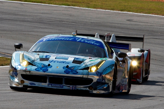 ESM's 2012 season, and potentially their GTE program, ended with victory at Petit Le Mans (Photo Credit: ferrari.com)