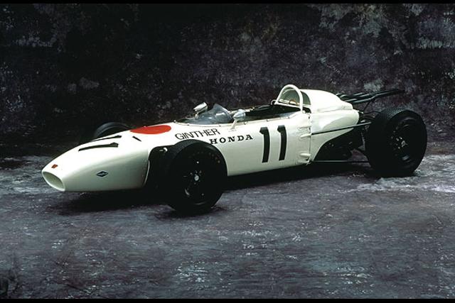 The 1965 RA272 and the 1967 RA300 will represent Honda's F1 heritage (Photo Credit: Honda)