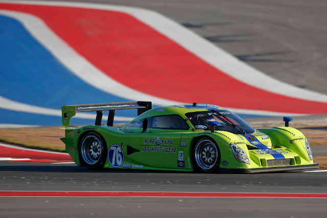 Krohn and Jonsson combined to take their second generation DP to sixth overall (Photo Credit: Krohn Racing)