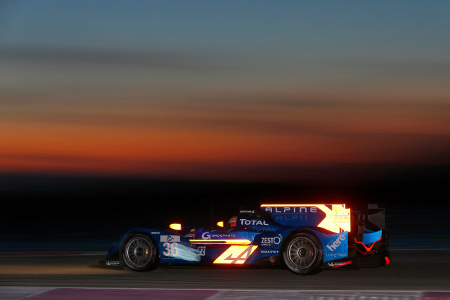 Nelson Panciatici was the fastest man of the day in the Alpine branded car (Photo Credit: ELMS/DPPI)