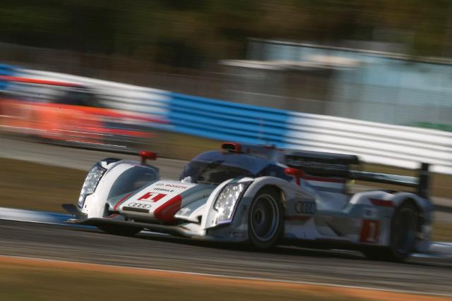 Fassler triumphed in the internecine battle for pole position (Photo Credit: Audi Motorsport)