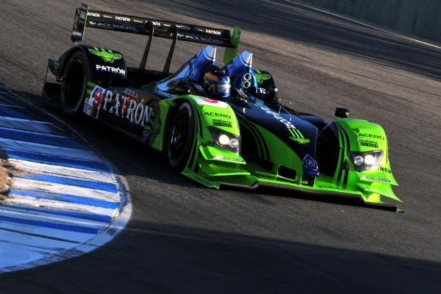 Brabham and Sharp last drove together in the Tequila Patron sponsored LMP1 Acura (Photo Credit: Highcroft Racing)