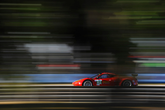 Gimmi Bruni extended his pole winning run at Sebring to three years (Photo Credit: Regis Lefebure/Risi Competizione)