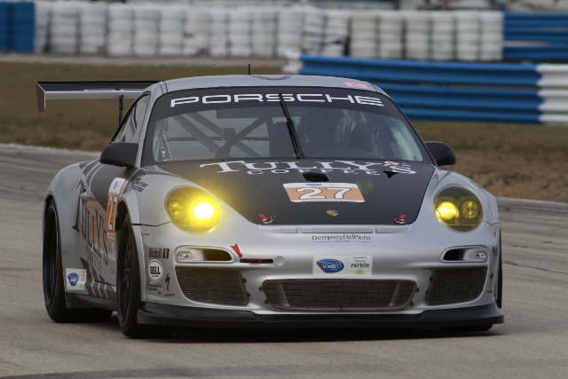 A mid-session adjustment helped Lally to GTC pole (Photo Credit: Porsche North America)