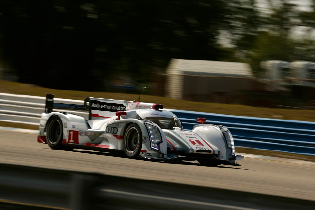 Fassler helped but the #1 nearly two seconds clear at the top of the session (Photo Credit: Audi Motorsport)