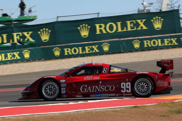 A self-inflicted black flag helped turn the race in the #99's favour (Photo Credit: Grand-Am)