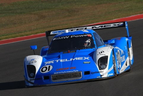 Rojas dominated the first half of the race for Ganassi, but a Pruett mistake proved costly (Photo Credit: Grand-Am)