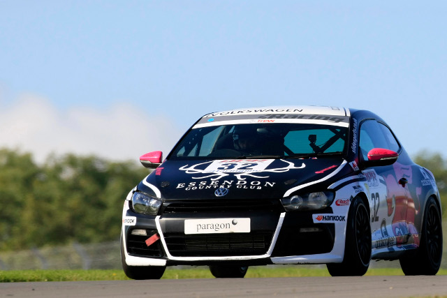 Liam Griffin's Scirroco will be one of four cars run by the team in 2013 (Photo Credit: Jakob Ebrey Photography)