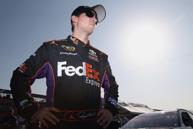 Denny Hamlin (Photo Credit: Jeff Gross/Getty Images)