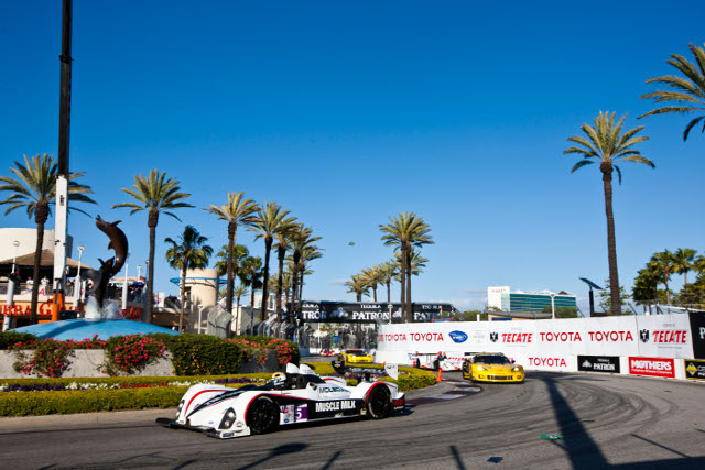 After the start at Sebring the ALMS switches to California this weekend (Photo Credit: Ryan Smith)