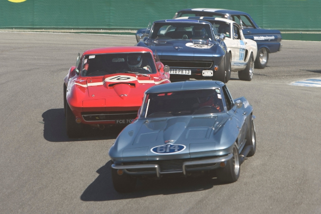 The Corvette takes centre stage at Laguna Seca's historic festival