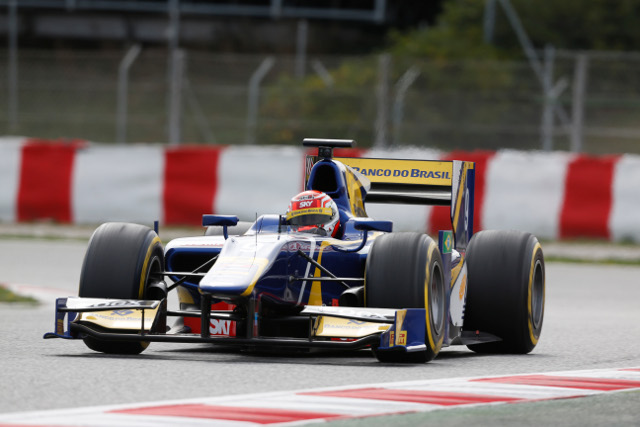 After Stefano Coletti led the morning session Felipe Nasr paced the afternoon's running (Photo Credit: Alastair Staley/GP2 Series Media Service)