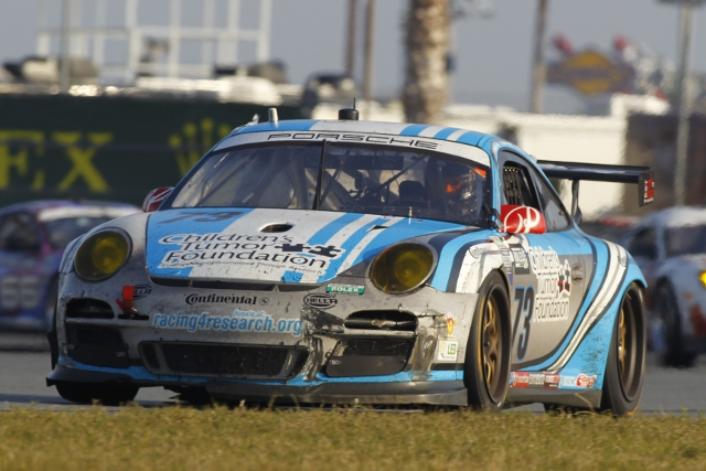 Patrick Lindsey was the best of the Park Place drivers in qualifying (Photo Credit: Porsche North America )