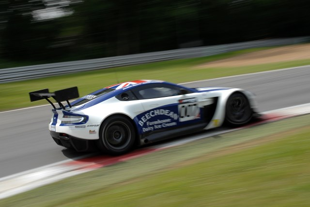 Beechdean AMR start a second season with the GT3 Vantage (Photo Credit: Chris Gurton Photography)