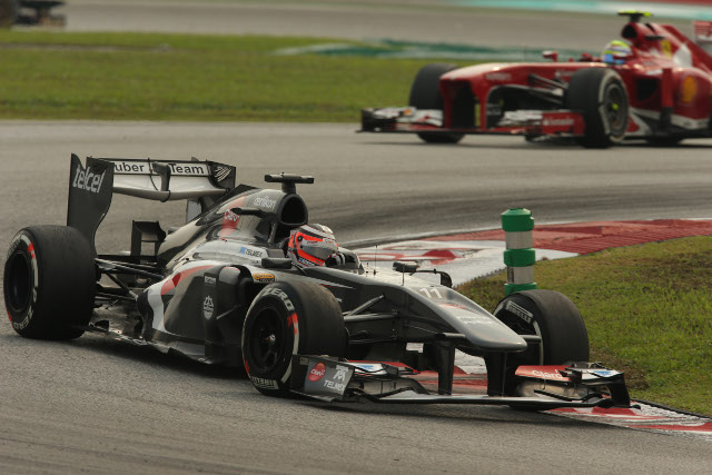 Hulkenberg delivered points on his first start in the Sauber (Photo Credit: Sauber Motorsport AG)