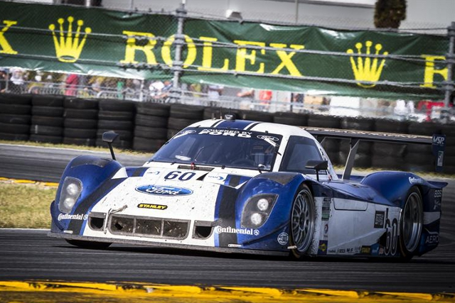 Valiante takes the second seat in the #60 alongside John Pew (Photo Credit: Rolex/Stephan Cooper)