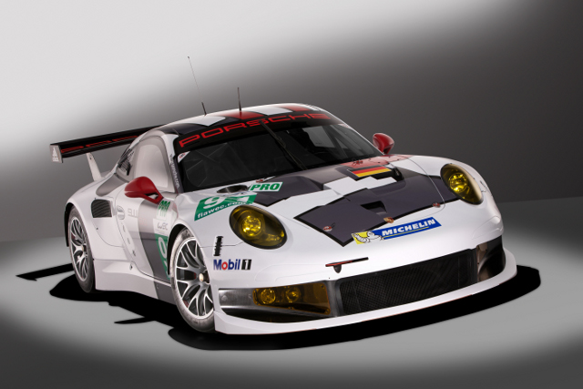 Porsche took the covers off their 2013 World Endurance Championship challenger (Photo Credit: Porsche AG)