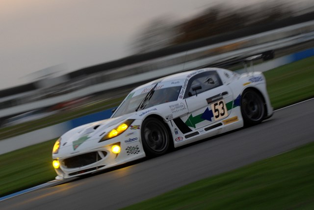 Eagling drove with the Smiths at the BEC finale at Donington last year (Photo Credit: Chris Gurton Photography)