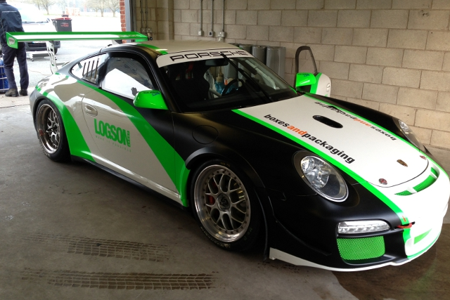 Loggie and Jones will share a Porsche in the BEC