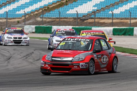 James Thompson - Photo Credit: FIA WTCC