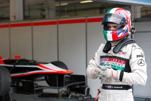 Dino Zamparelli - Photo Credit: Alastair Staley/GP3 Series Media Service