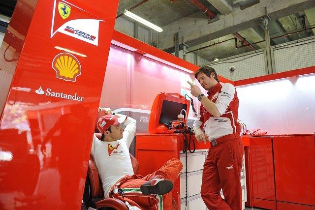 Felipe Massa & Rob Smedley - Photo Credit: Ferrari