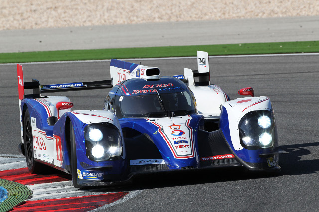 The #7 crew of Alex Wurz, Nicolas Lapierre and Kazuki Nakajima will gove the 2013 car its race debut (Photo Credit: Toyota Hybrid Racing)