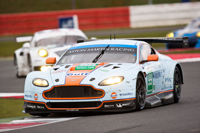 Five works Aston Martin Vantages will take to the WEC grid this weekend in Belgium (Photo Credit: Aston Martin Racing)