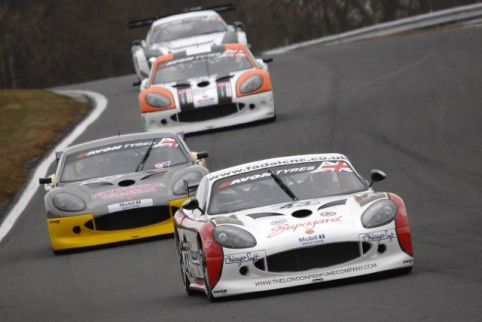 Struggling on cold tyres Zoe Wenham held on to win GT4 (Photo Credit: Chris Gurton Photography)
