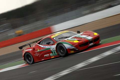 Toni Vilander put the #71 AF Corse Ferrari fastest again in LMGTE Pro (Photo Credit: Chris Gurton Photography)