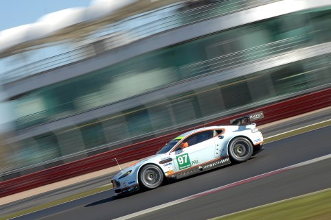 #97 Aston Martin Back on the pace after Friday problems - Photo: Chris Gurton Photography