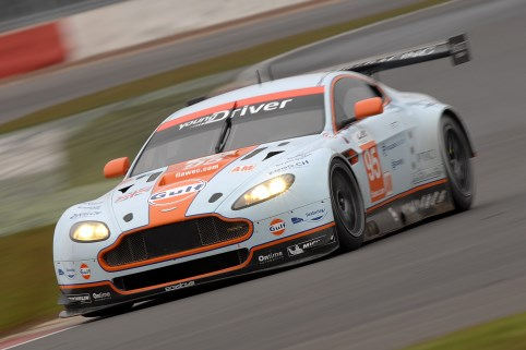 Impressive pace from the #95 AMR car of Nygaard, Pulsen and Simonsen - Photo: Chris Gurton Photography