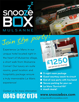 Snoozebox Le Mans