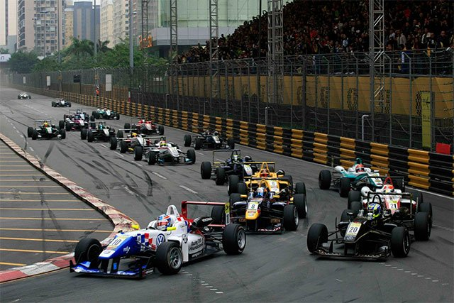 macao grand prix Day two's action from the macau grand prix includes motorcycle grand prix  qualifying, chinese racing cup qualifying, macau guia race free.