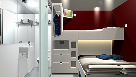 Snoozebox-Interior