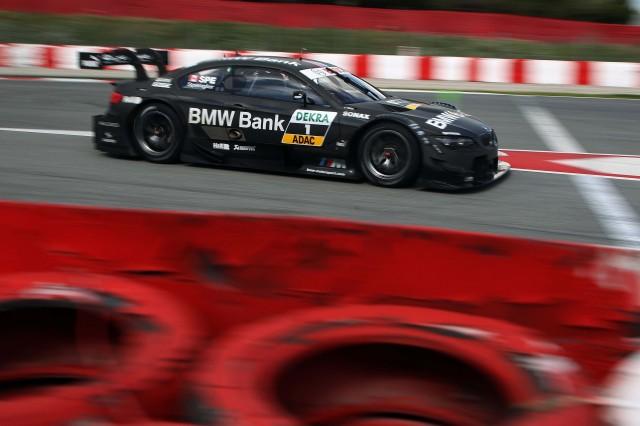 Spengler hard at work, set to defend his title (image credit: BMW AG)