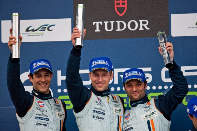 Senna, Mucke and Turner dominated LMGTE Pro (Photo Credit: Aston Martin Racing)