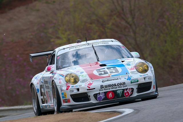 The #59 will continue to run in the 'Racing for Children's' handprints livery (Photo Credit: Chapman/Autosport Image)