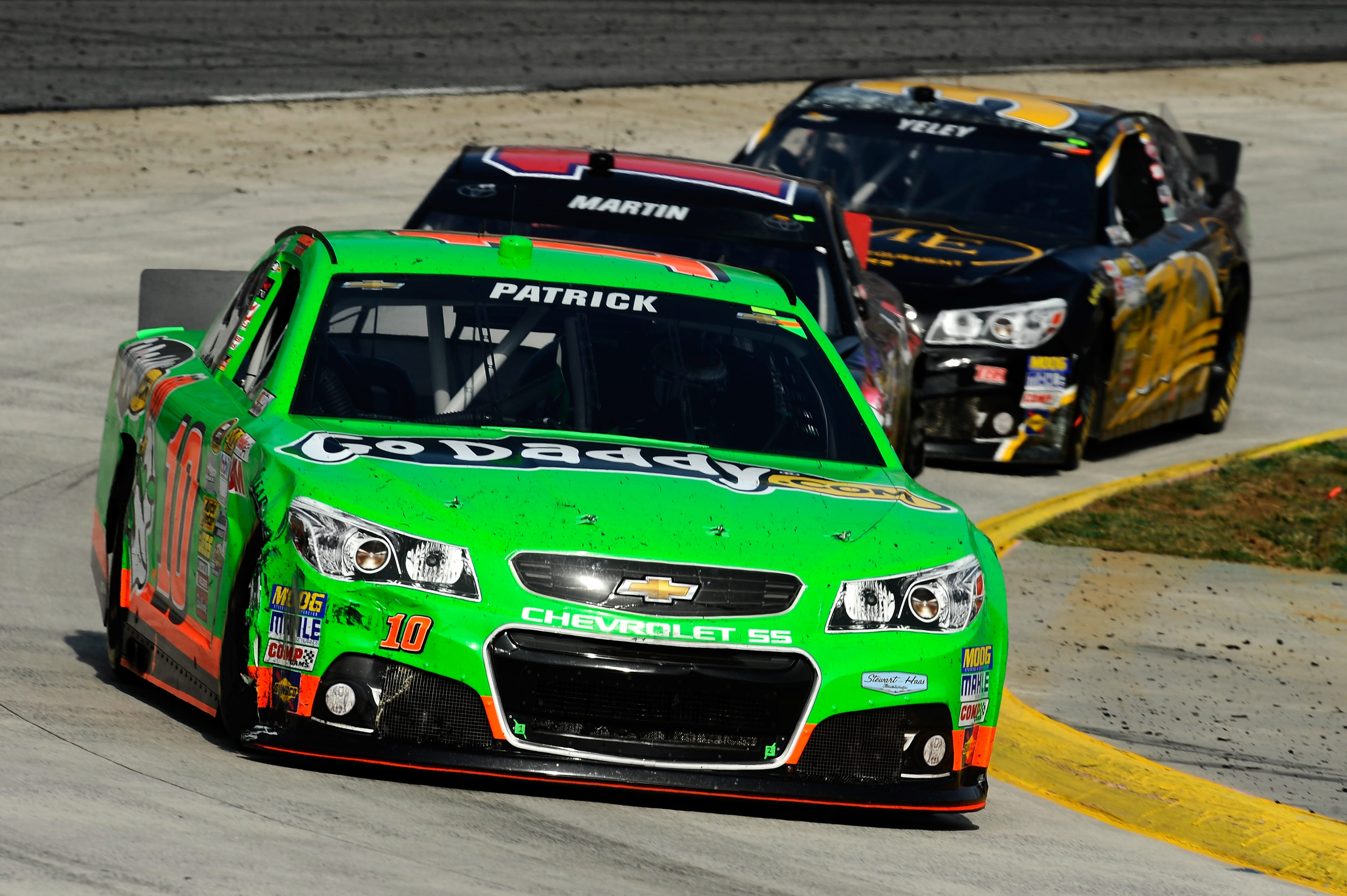 Patrick bounced back from early spin to finish 12th (Photo Credit: Jared C. Tilton/NASCAR via Getty Images)