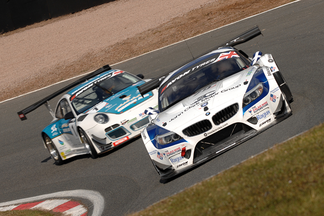 Bryant and Attrad claimed a podium to start the season for Ecurie Ecosse (Photo Credit: Chris Gurton Photography)