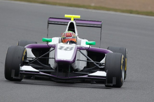Fong completed the two day test at Silverstone with the Status squad (Photo Credit: Alastair Staley/GP3 Series Media Service)