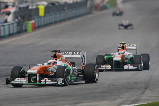 Force India will remain with Mercedes power under the 2014 engine regulations (Photo Credit: Force India F1 Team)