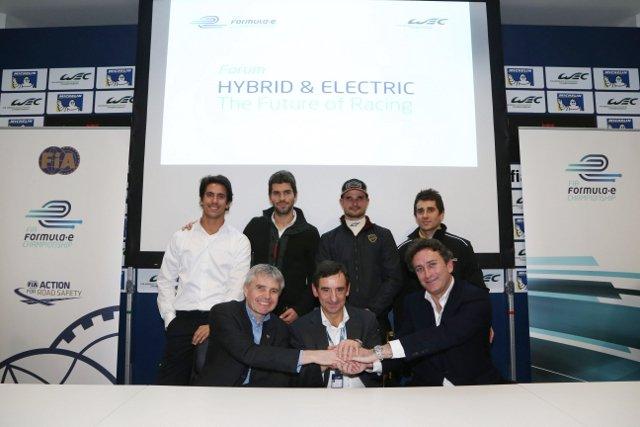 Paul Drayson (bottom left) (Photo Credit: Drayson Racing)