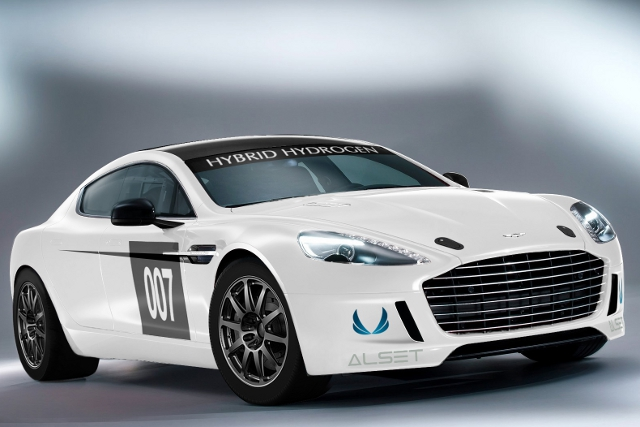 Hybrid Aston Martin (Photo Credit: Alset Global)