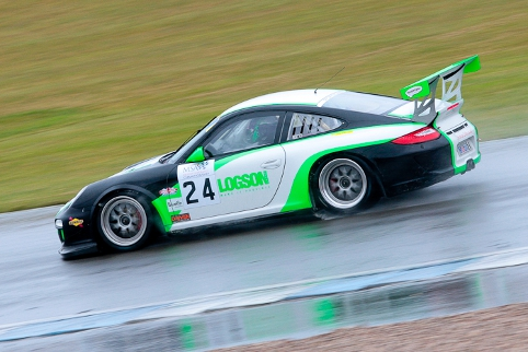 Ian Loggie and Chris Jones won class two in their Porsche (Photo Credit: Octane Photographic Ltd)