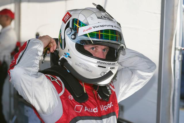 Allan McNish (Photo Credit: Audi Motorsport)