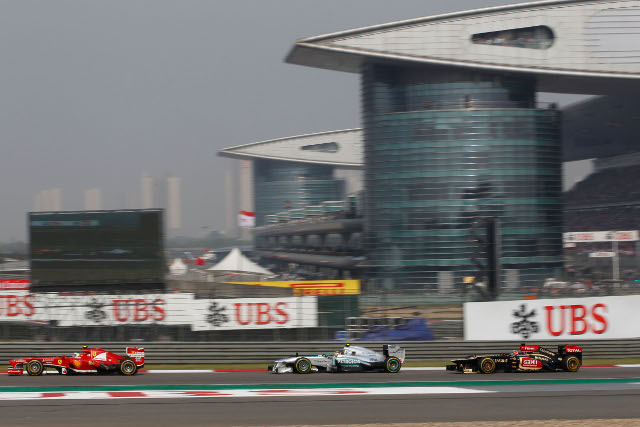 After starting on pole Lewis Hamilton was able to battle to a podium finish (Photo Credit: Petronas Mercedes GP)