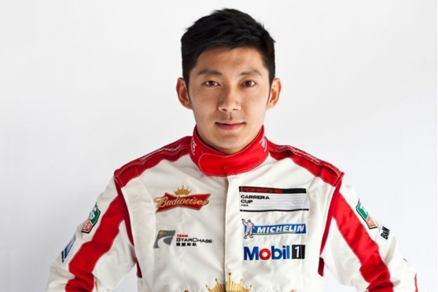 Ho Pin Tung will join Matt Howson and Alexandre Imperatori in China's first ever team at Le Mans (Photo Credit: KCMG)