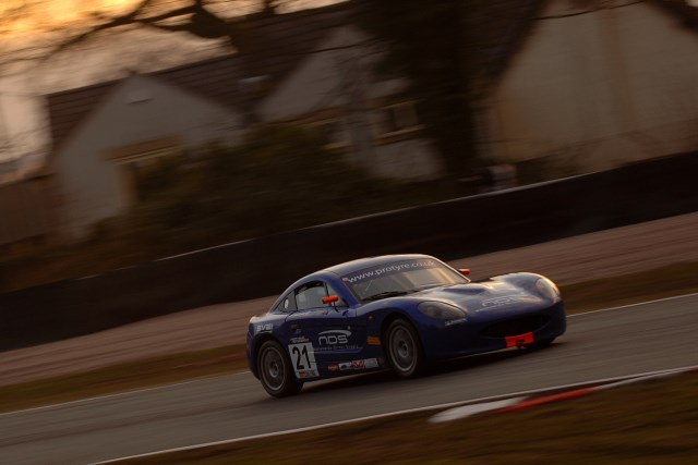 Pittard rued problems and mistakes on his first GT5 outing (Photo Credit: Chris Gurton Photography)